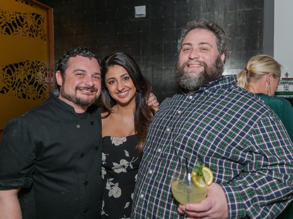 Urban Harvest Sunday Supper 2019 David Cordua Megha Tejpal Eric Sandler