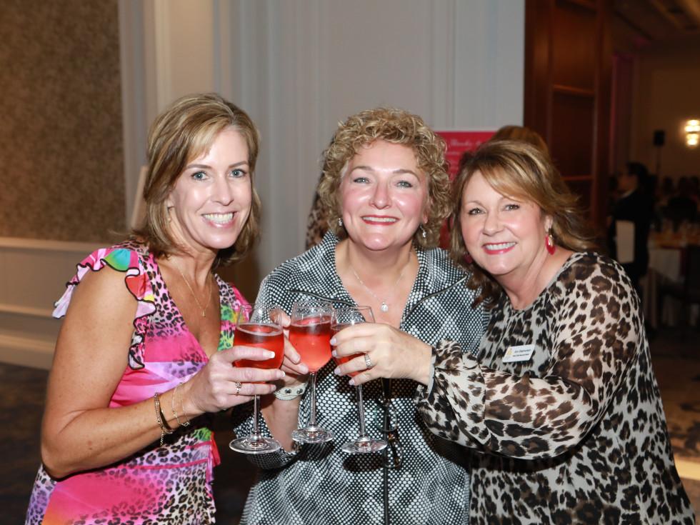Lora Moore, Patty Locke, and Ann Stephenson