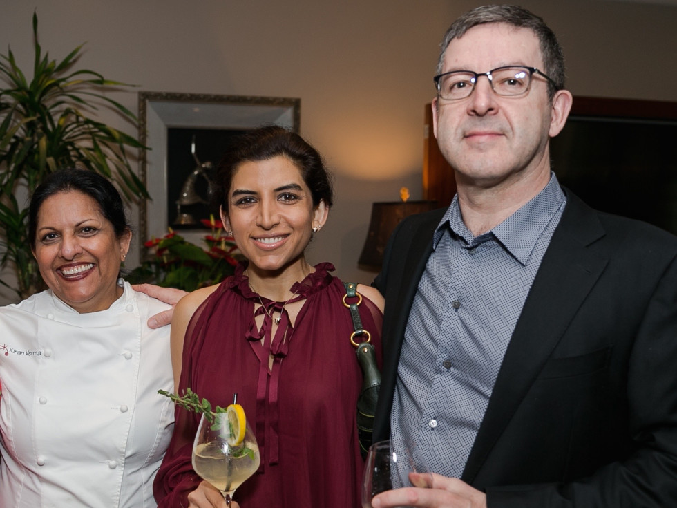 Urban Harvest Sunday Supper 2019 Kiran Verma Puja Verma Gary Chapman