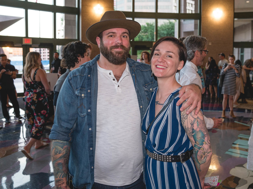 CultureMap Tastemakers 2019 Bob Bullock Museum Chadwick Leger Rachelle Fox