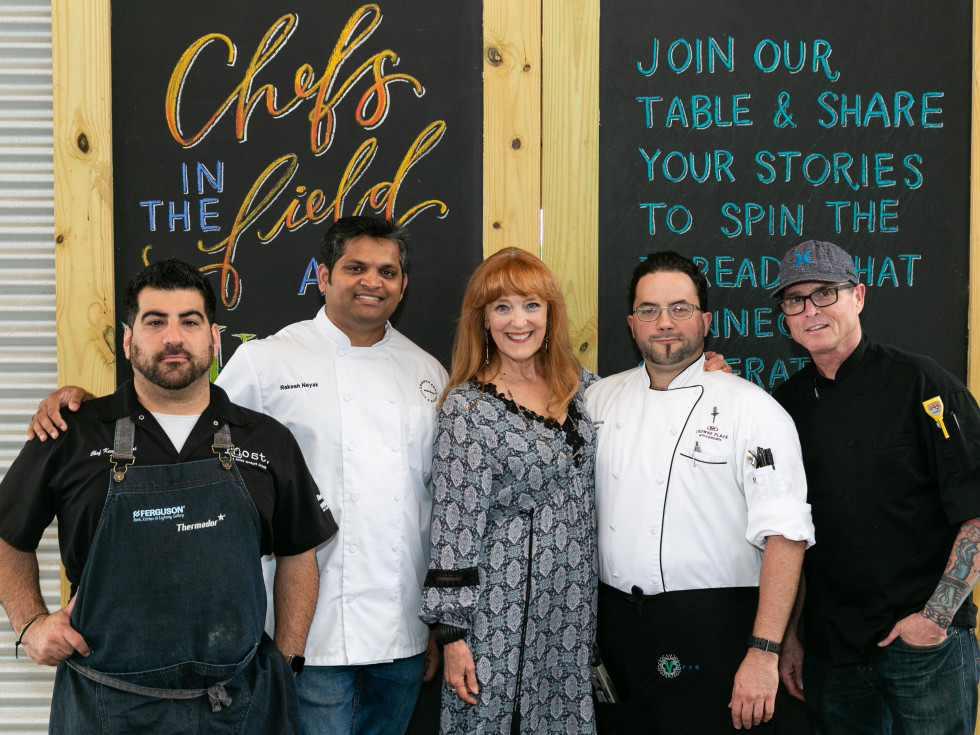 Chefs in the Field Hope Farms 2019