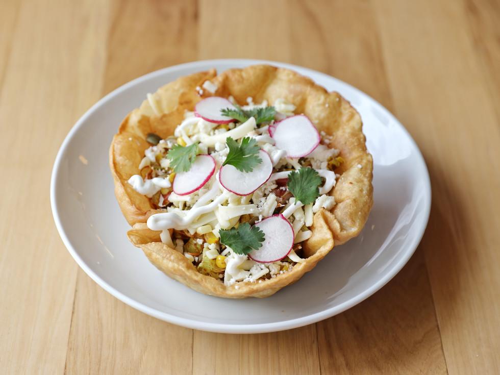 Vamonos Austin taco salad