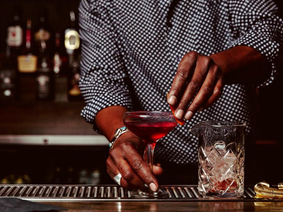 Velouria Austin drinks