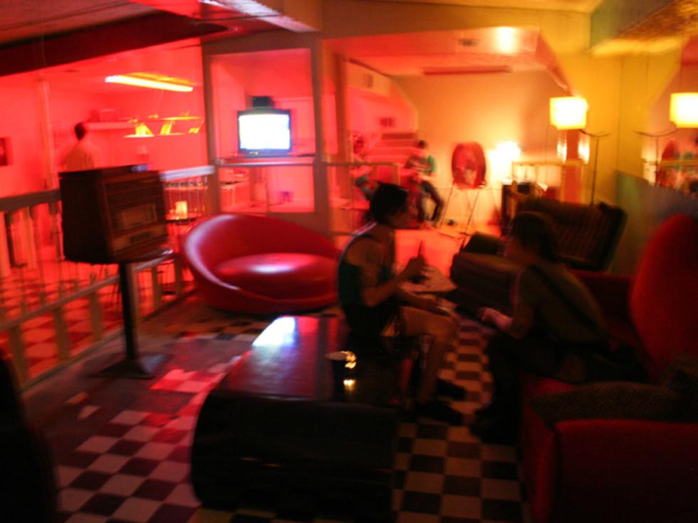 Big Star Bar interior