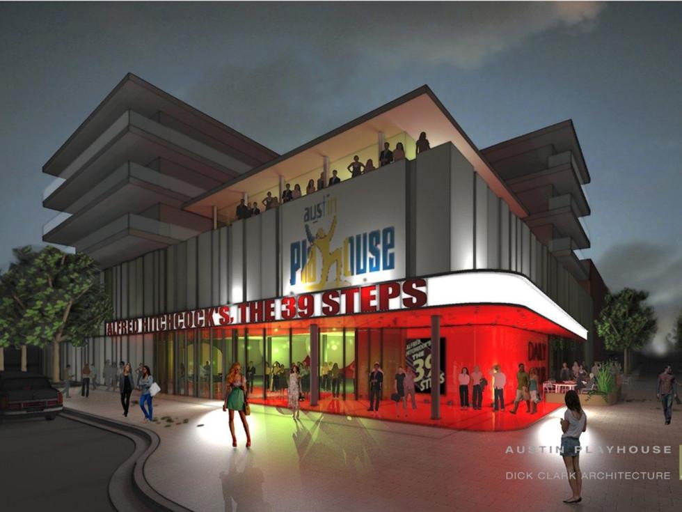 Austin Playhouse rendering