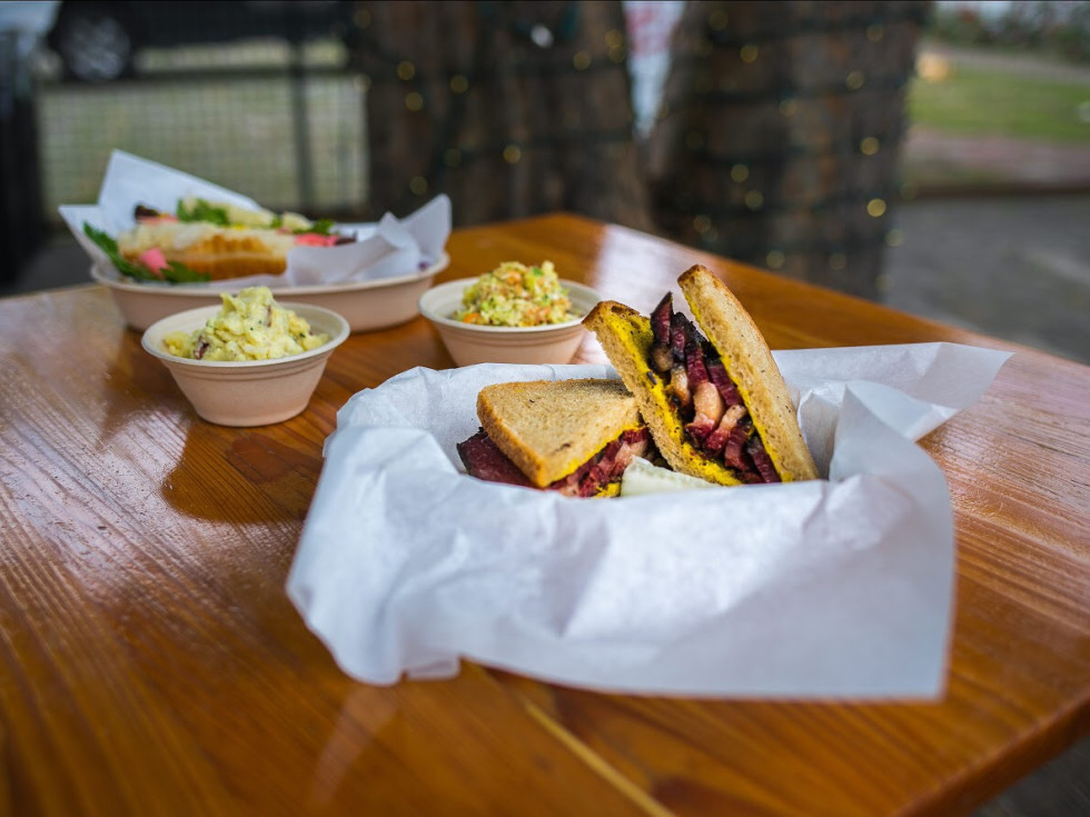 Mum Foods Deli sandwich