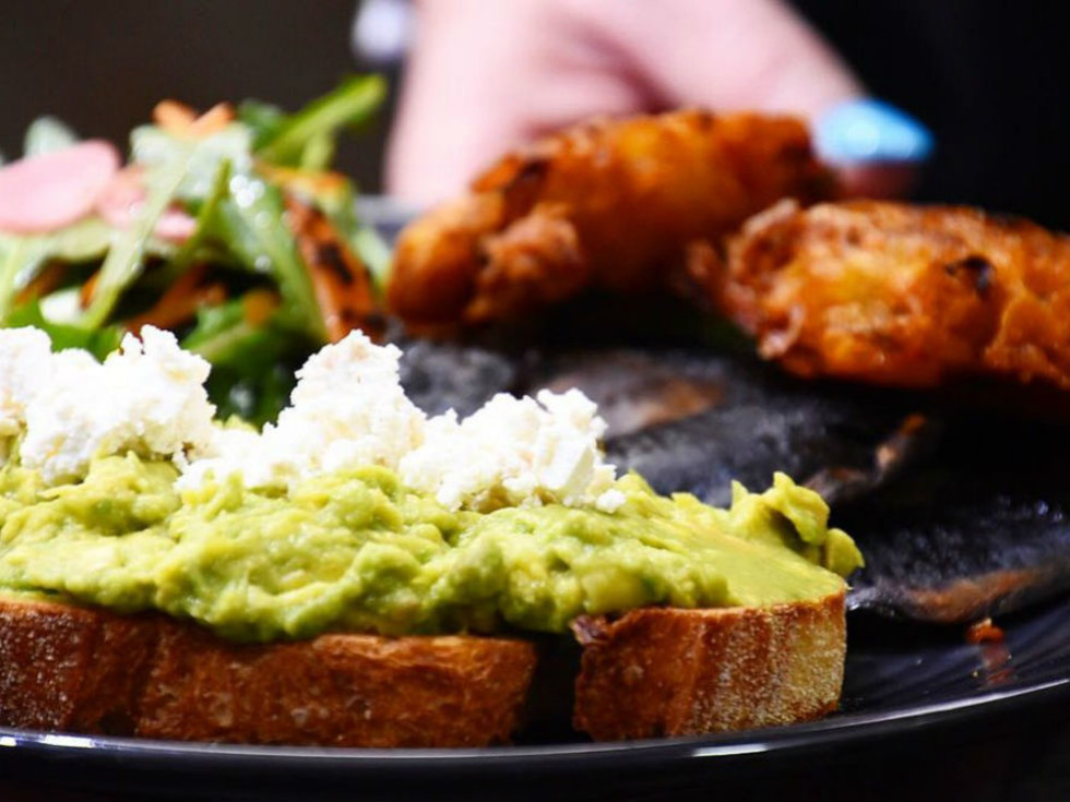 Aussie Grind avo toast