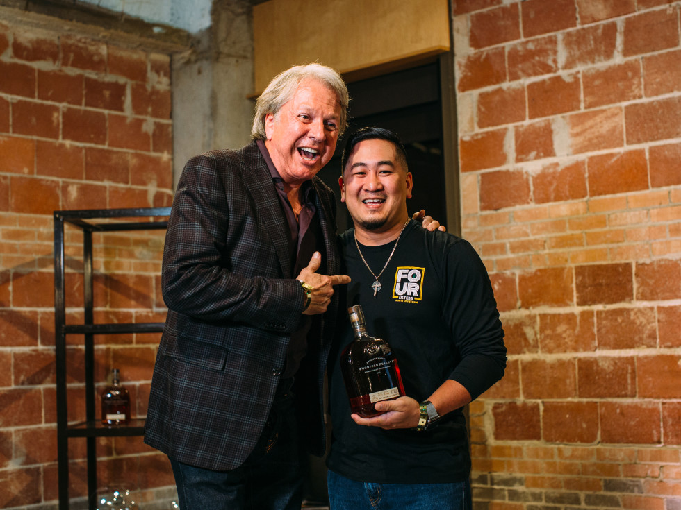 Tuan Pham, Dean Fearing, Tastemaker Awards Dallas