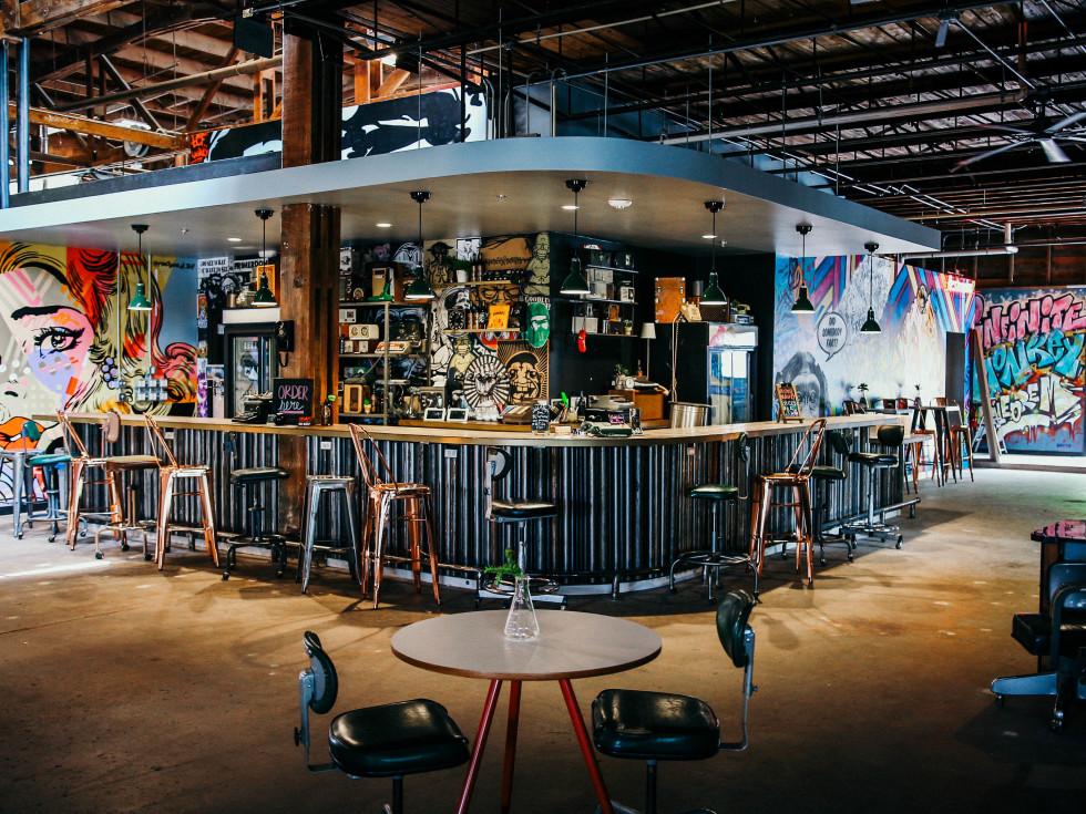 Infinite Monkey Theorem tasting room Austin
