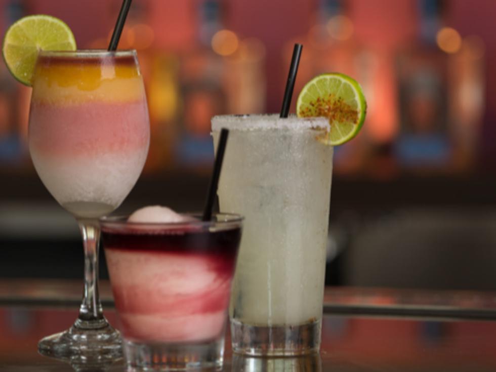 Frozen drinks, margaritas