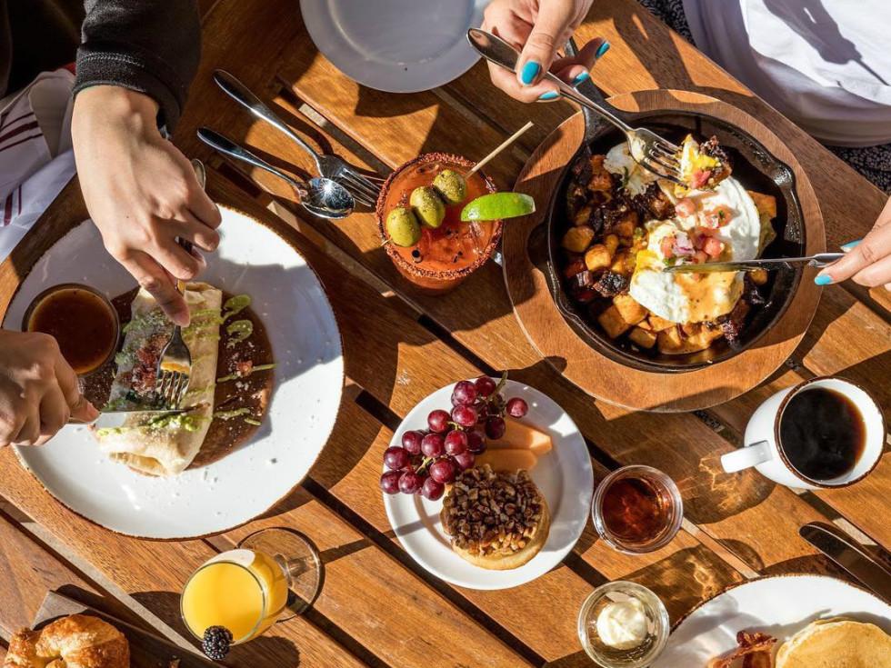 JW Marriott San Antonio Hill Country Resort & Spa brunch