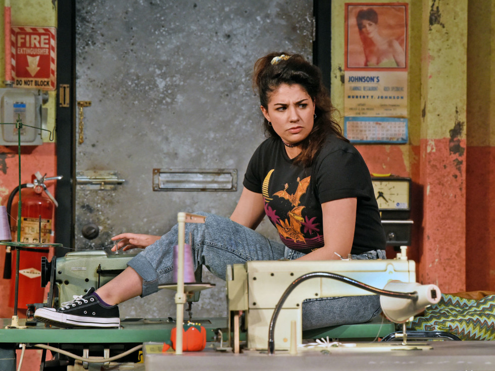Tatiana Lucia Gantt in Dallas Theater Center's Real Women Have Curves
