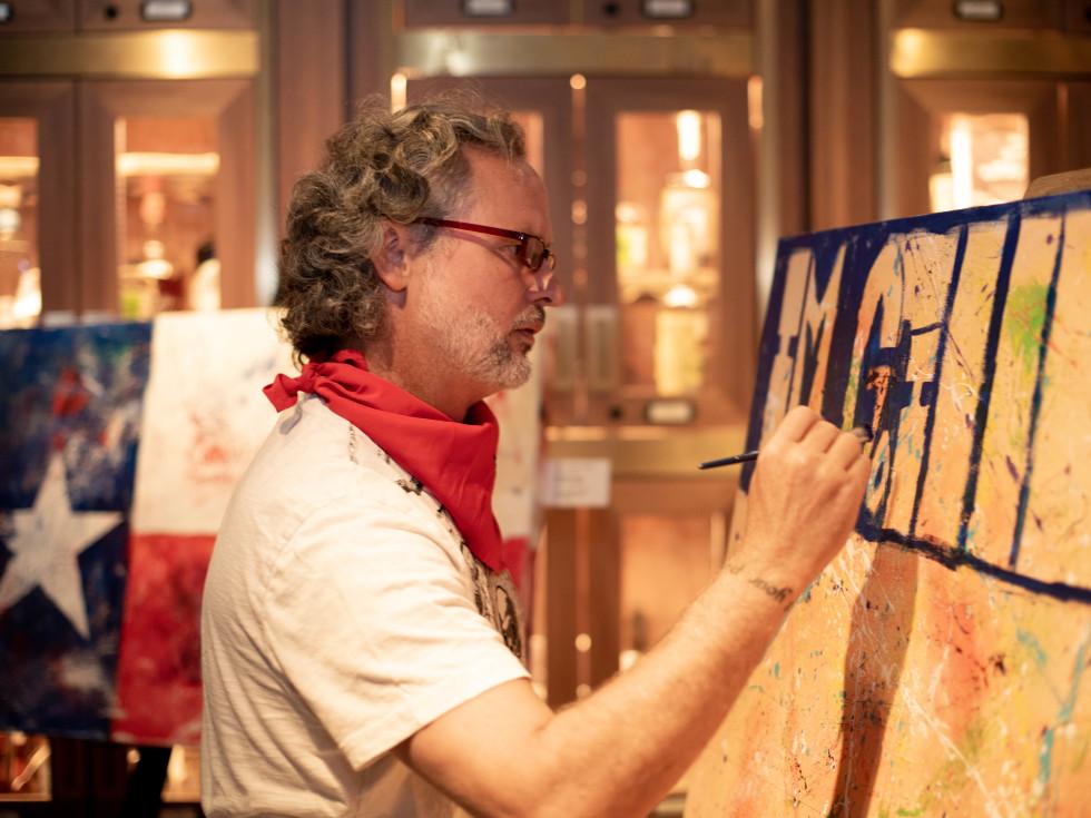 Live Art Bar with Taft McWhorter
