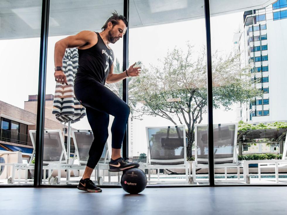 Michael Chabala Powa by Sphere fitness class