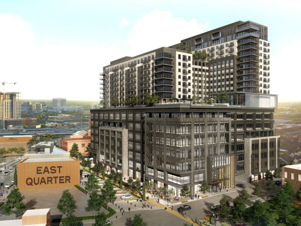 East Quarter downtown Dallas