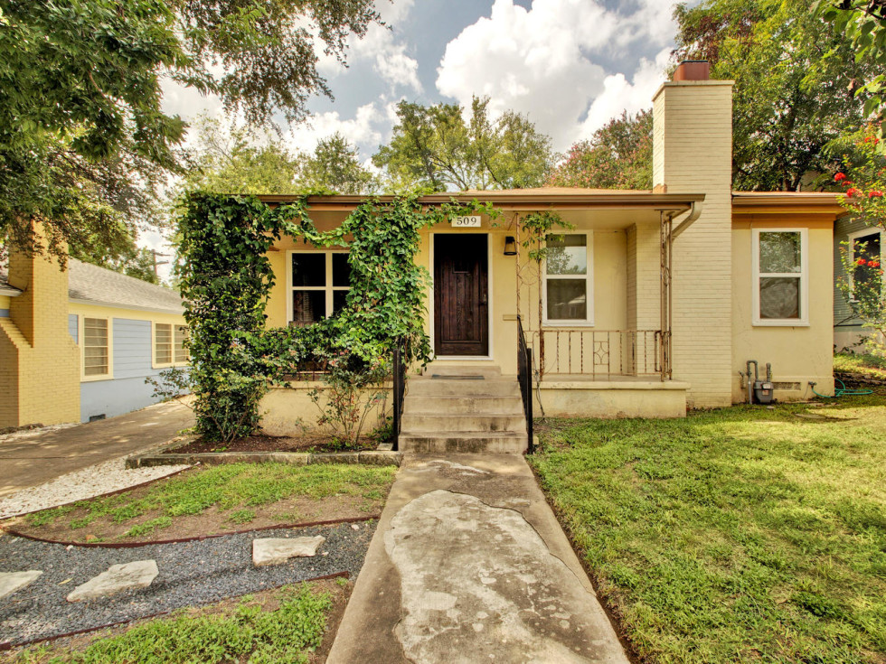 509 E. 43rd St. Austin house for sale