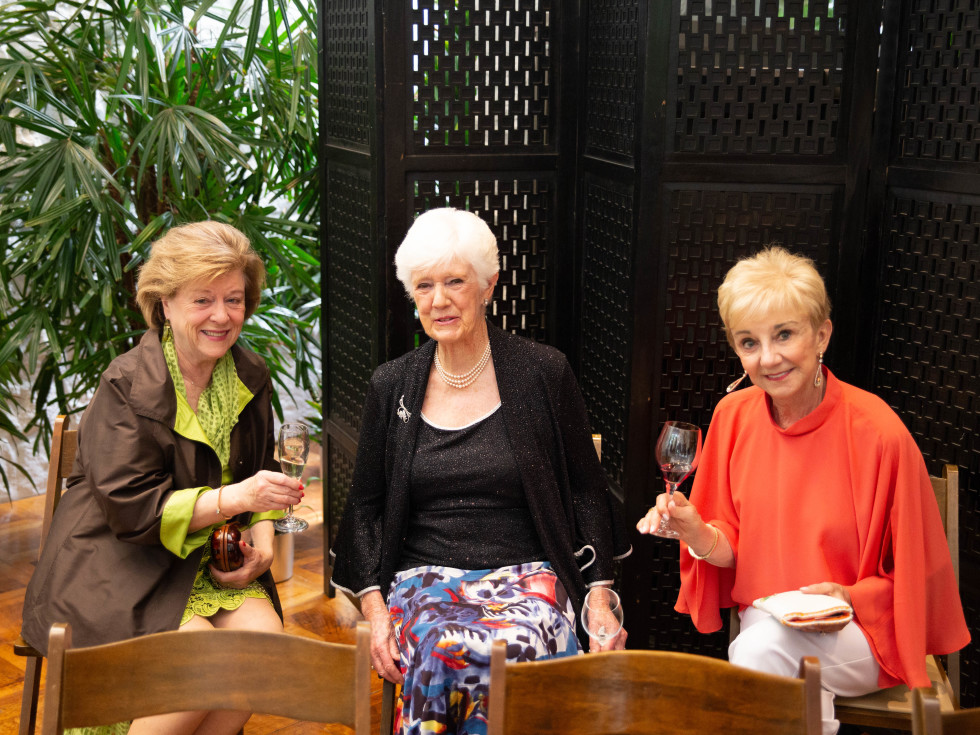 Mary Pencis, Jill Fischer and Rita O'Farrell