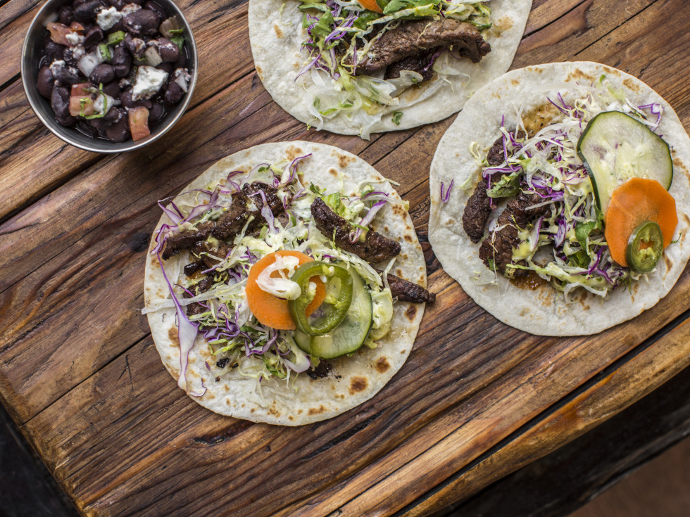 Local Table Spicy Beef Tenderloin Tacos