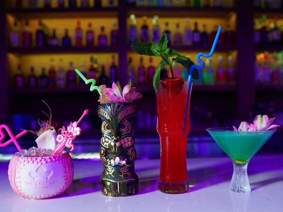 Lost Lei Austin cocktails