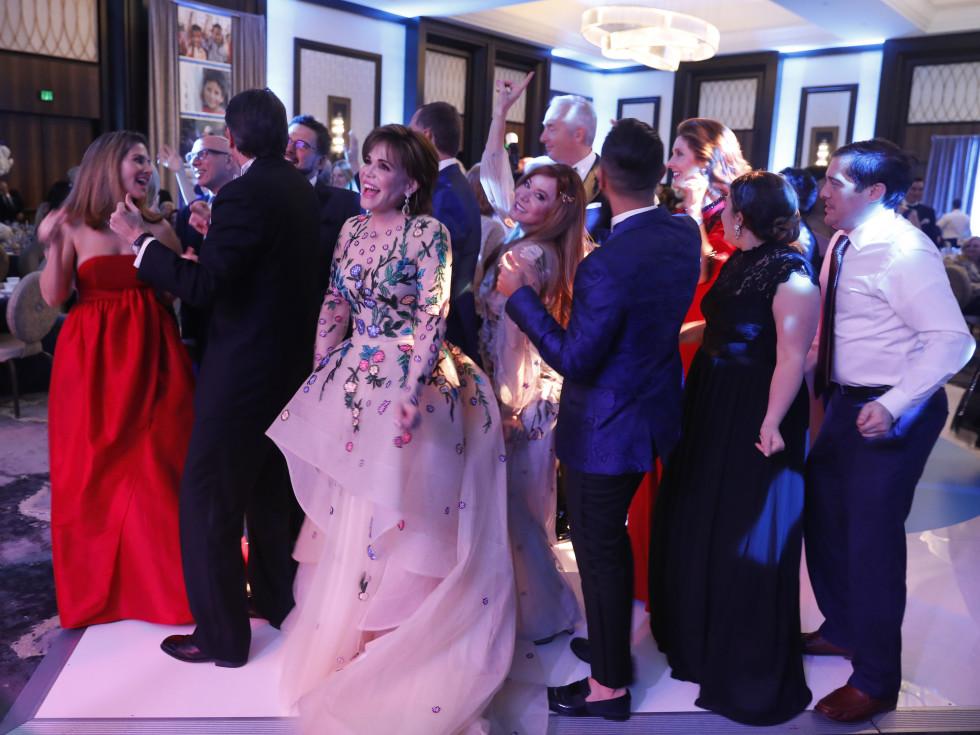 UNICEF Gala Houston 2019 dance floor