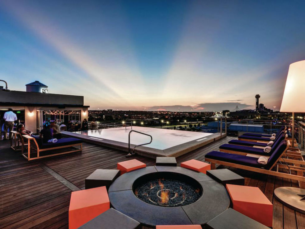 The Gallery Rooftop Lounge and Pool