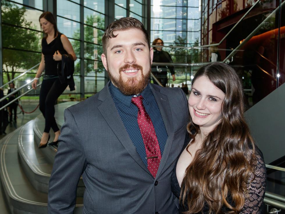 Logan Scheps and Alicia Dewitt