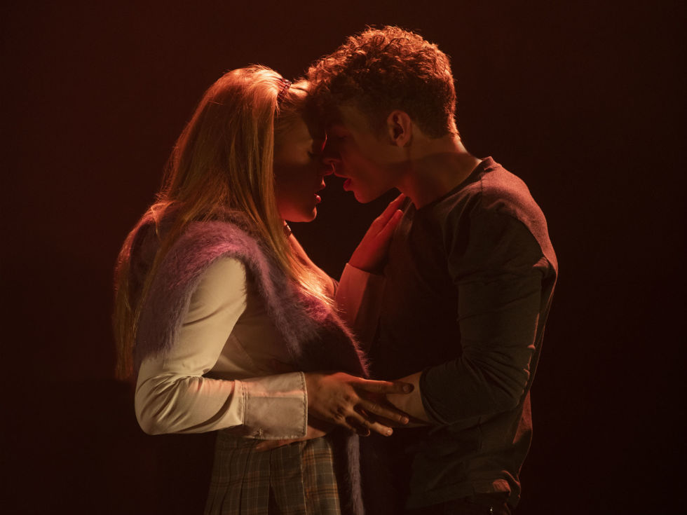 Jeffrey Kringer and Betsy Stewart in Cruel Intentions: The '90s Musical