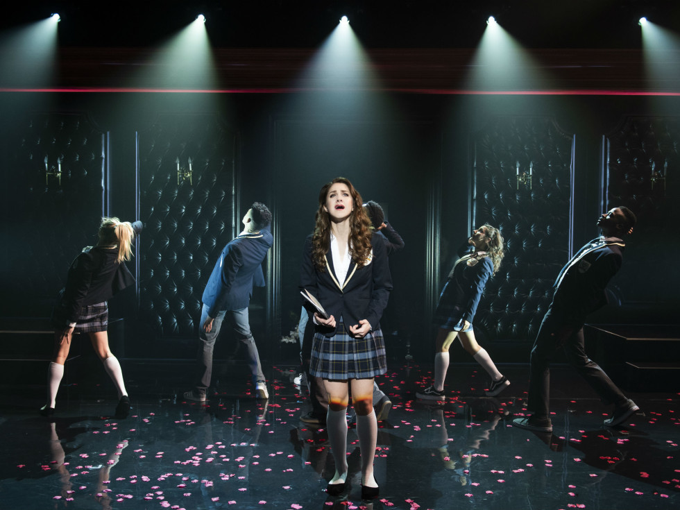 Taylor Pearlstein and cast of Cruel Intentions: The '90s Musical