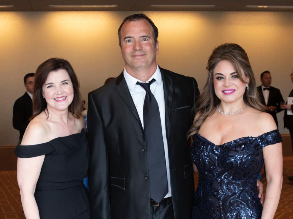 r Amy Camp, Jim Beskar and Erika Beskar