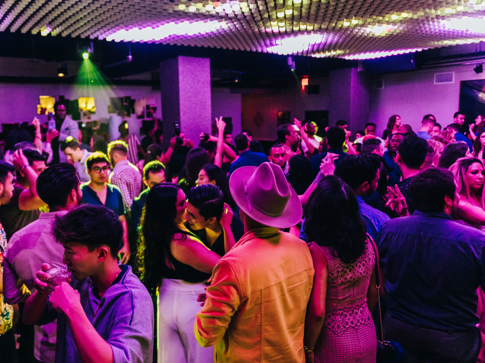 Base nightclub dance floor
