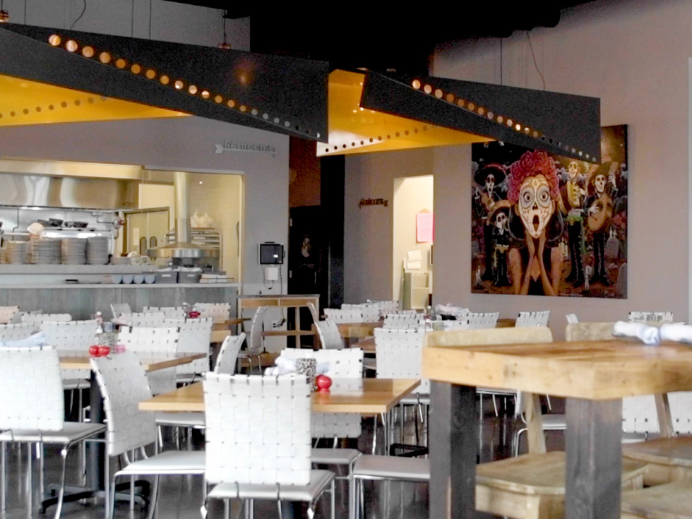 Ambriza Social Mexican Kitchen dining room
