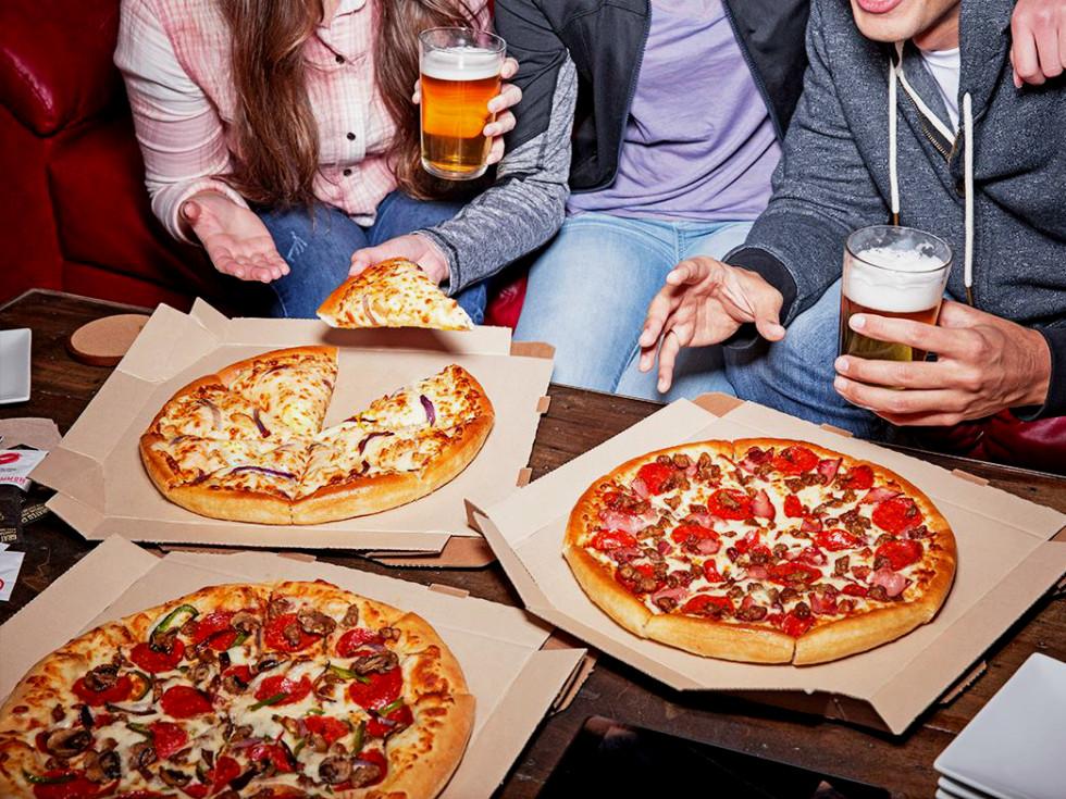 Pizza Hut pan pizza
