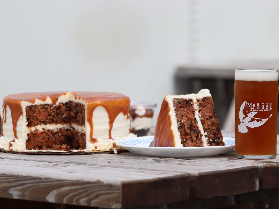 Martin House whiskey carrot cake