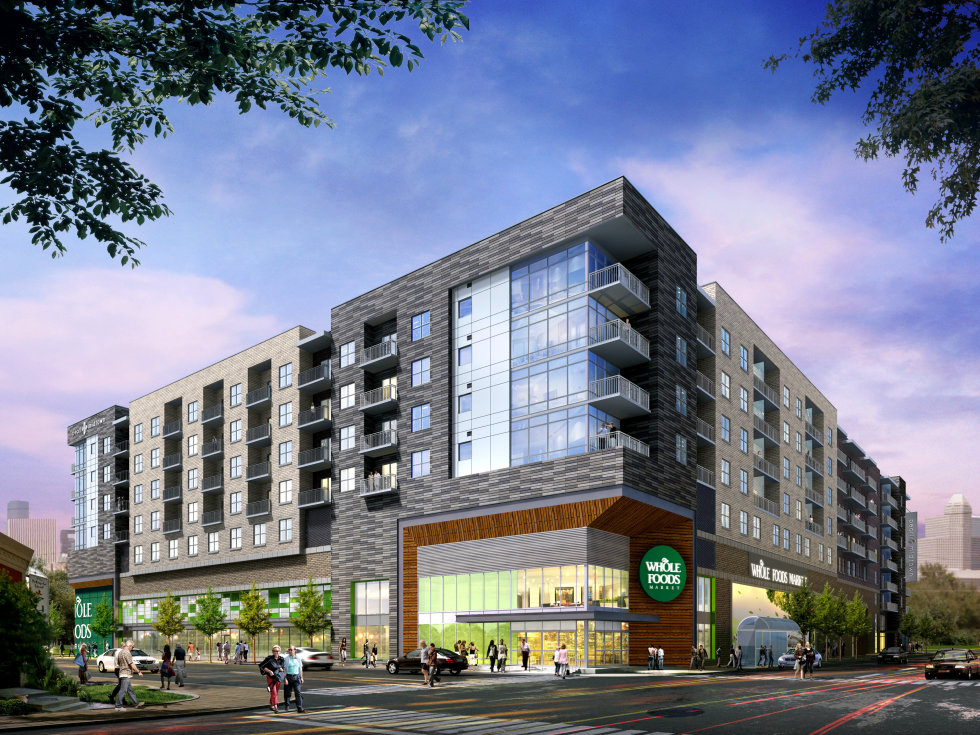 Pearl Midtown Whole Foods mixed-use