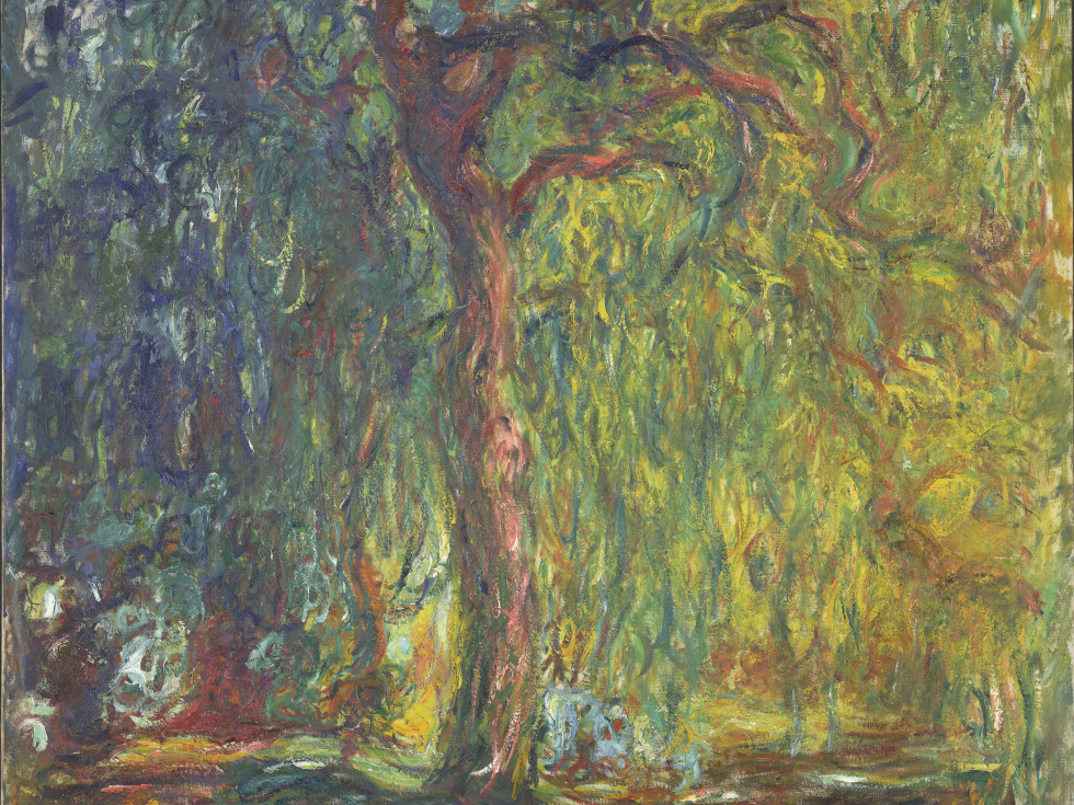 Monet, Weeping Willow