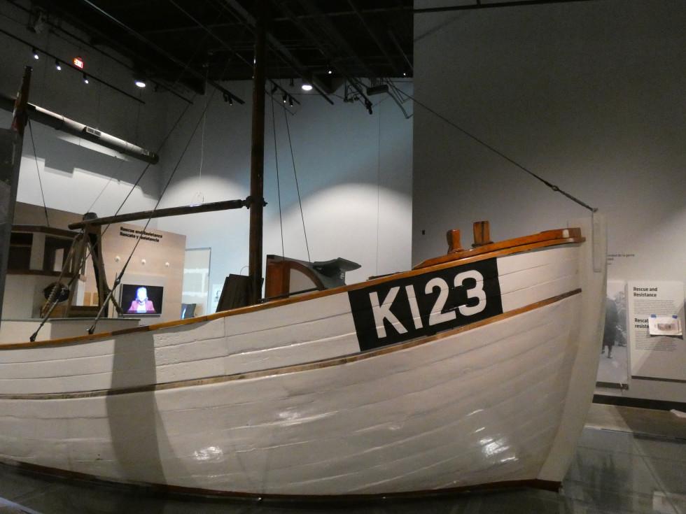 Holocaust Museum Houston: Danish Rescue Boat