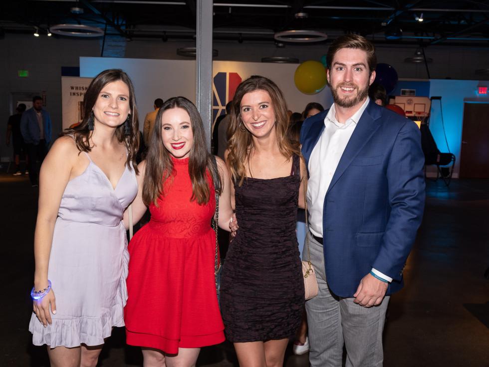 Allie Greenberge, Lauren Vonder Haar, Kristen Miller, Wyndham Burney