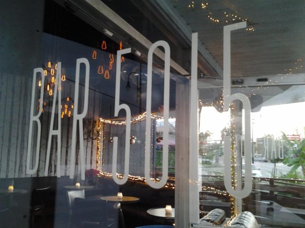 Bar 5015 window