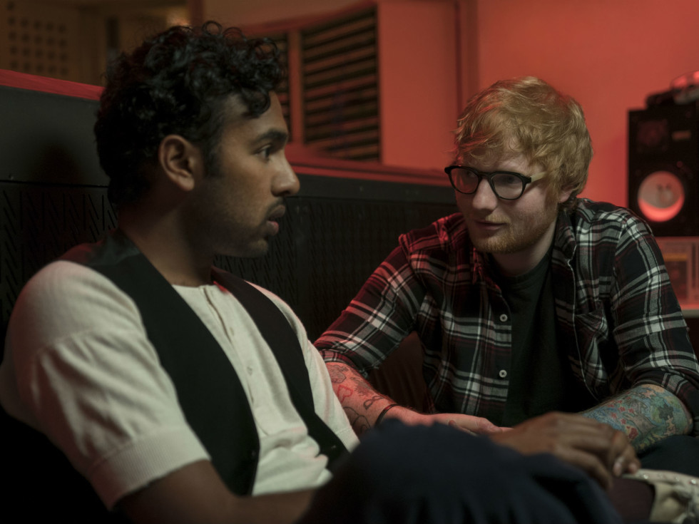 Hamish Patel and Ed Sheeran in Yesterday