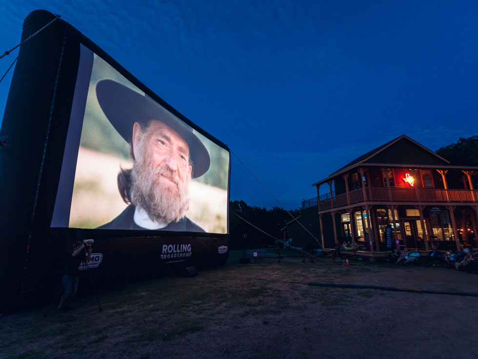Luck Cinema Willie Nelson on Screen