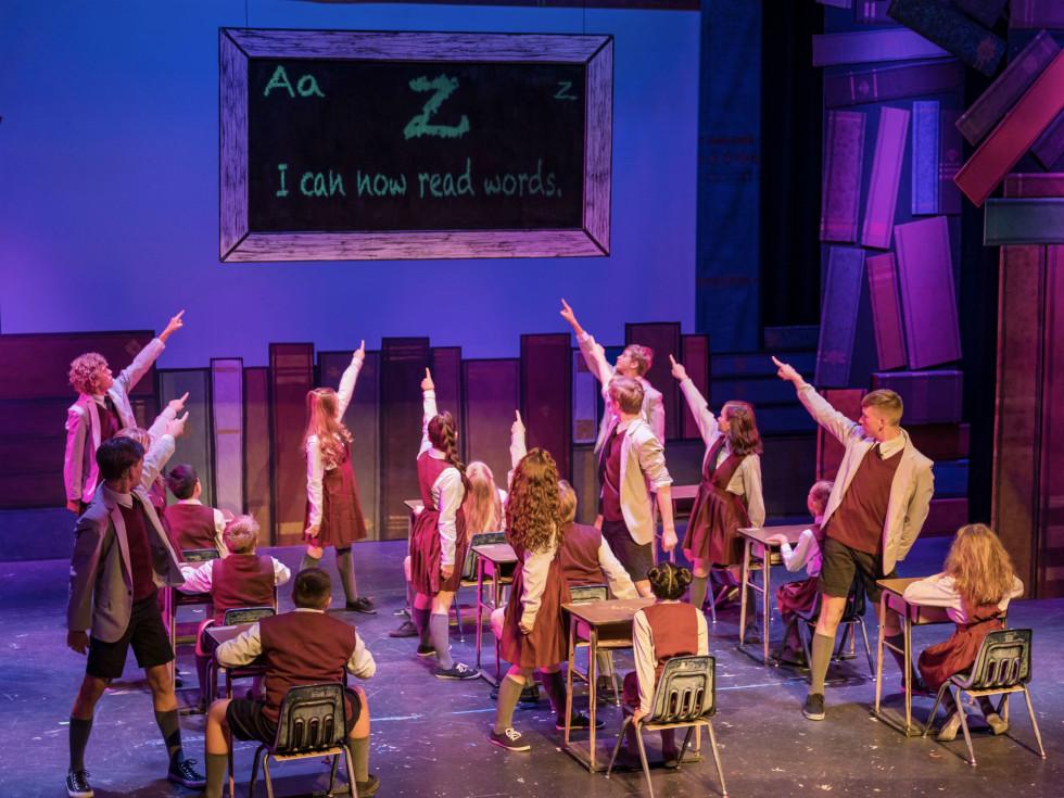 The Public Theater of San Antonio present Matilda