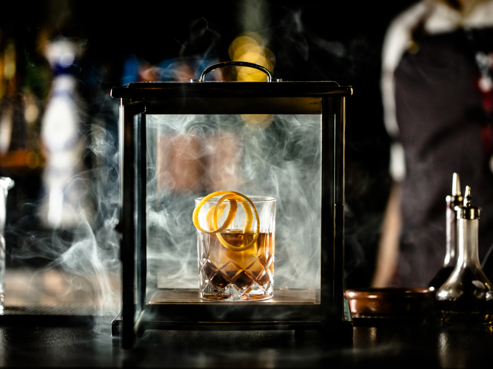Smoke Signals cocktail