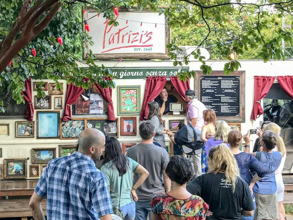 Patrizi's Austin food truck
