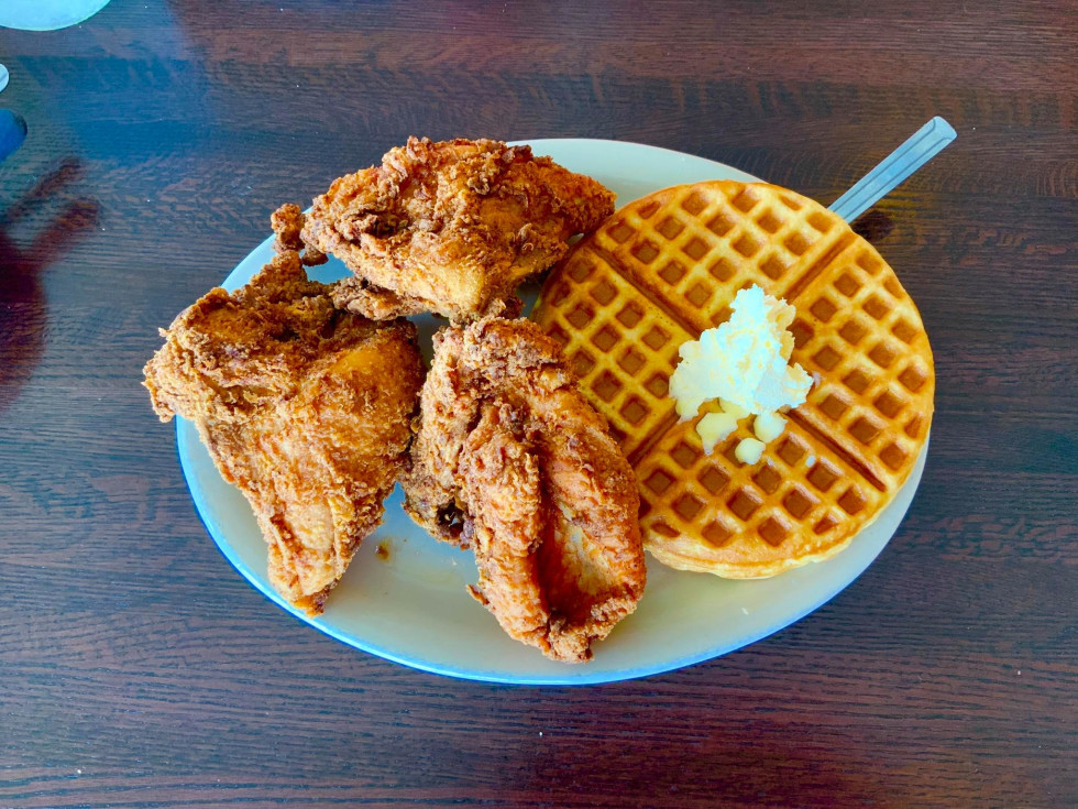 Mr. C's Fried Chicken & Waffles