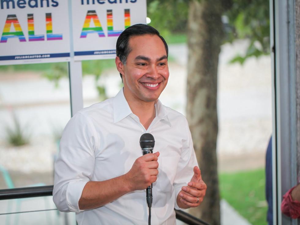 Julian Castro Pride event
