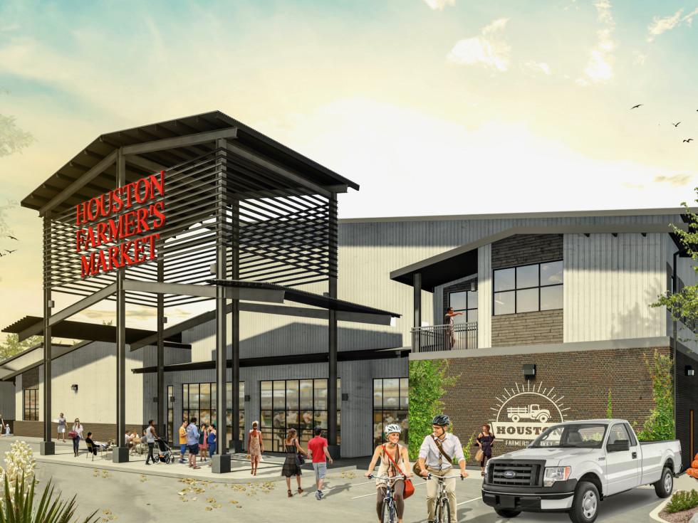 Houston Farmers Market entry rendering
