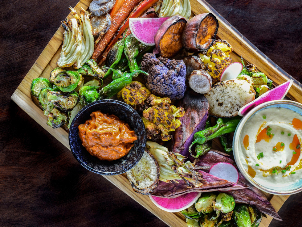 Traveler's Table chef's vegetable board