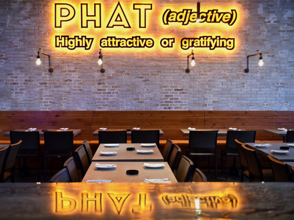 Phat Eatery interior