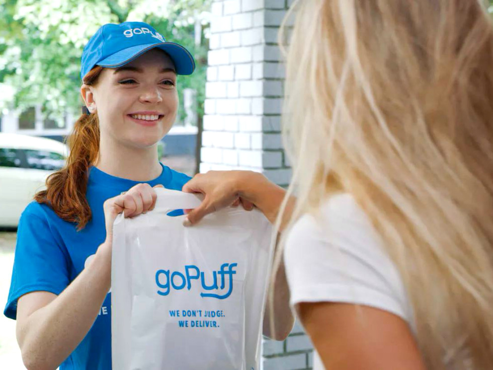 goPuff delivery service Houston