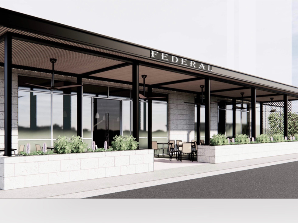 Federal Grill Hedwig Village rendering